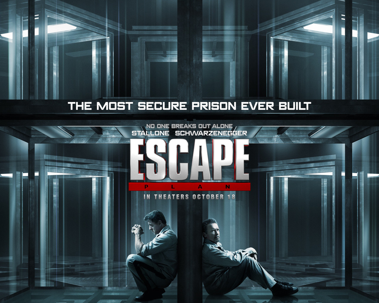 in theaters now � escape plan � with sylvester stallone